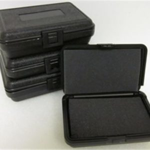 28-7502 Blow Molded Case ID: 10.25 L x 6.5 W x 2.69 D Lid .59 Base 2.09