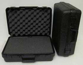 28-7506 Blow Molded Case ID: 11.00 L x 7.0 W x 3.44 D Lid 1.34 Base 2.09