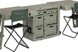 472-FLD-DESK-DD Field Desk 2 Chairs, 2 Desks