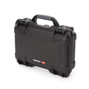 909 Nanuk Watertight Case ID: L 11.4″ x W 7.0″ x H 3.7″