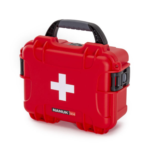 904….Nanuk First Aid Case ID: L 8.4″ x W 6.0″ x H 3.7″