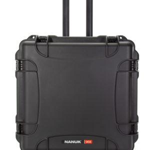968 Nanuk Wheeled Case ID: 21.5″L x 21.5″W x 11.8″D