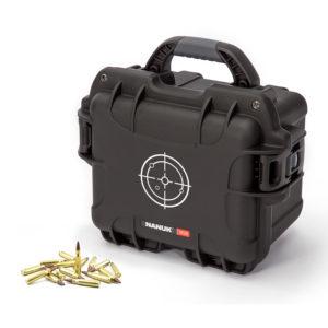 905 Watertight Ammo Case, ID: 9.4″ L x 7.4″ W x 5.5″ D